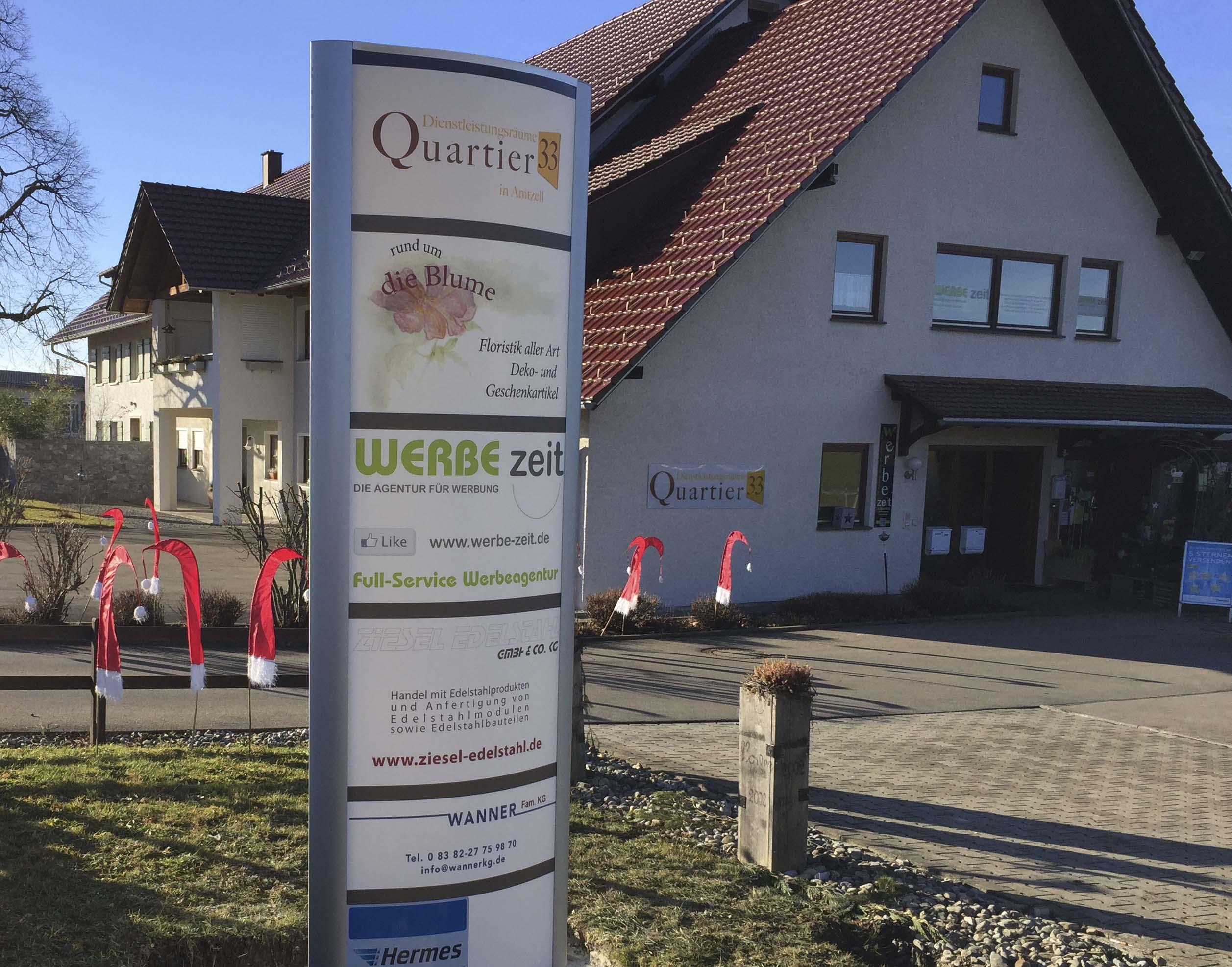 Werbezeit DIE AGENTUR FÜR WERBUNG / Andrea Sosset Amtzell
